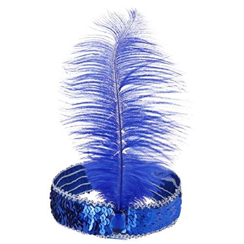 Tonsee® Bandeau de Bande de Cheveux Plume