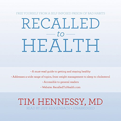 Recalled to Health audiobook cover art