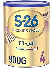 Wyeth Nutrition S26 Prokids Gold Stage 4, 3-6 Years Premium Milk Powder for Kids Tin 900g