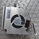 CYRMZAY CPU Ventilador Compatible para MSI GE63 GP63 GL63 GE63VR GE73 GE73VR GP73 GL73