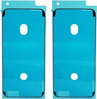 MEEFIX Front Screen Frame مقاوم للماء والغبار لاصق لاصق لاصق استبدال ل iPhone 6S اللون الأسود