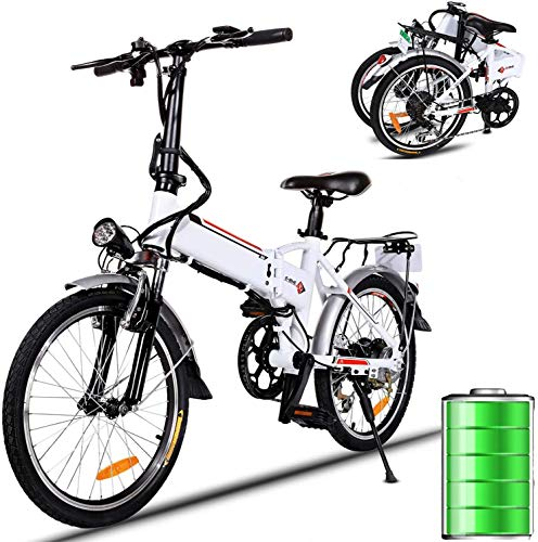 Folding Electric Bike 250W City Commuter Ebike with 7 Speed Gear and Three Working Modes Electric Bicycle for Adults and Teenagers