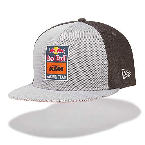Red Bull KTM New Era 9Fifty Reflective Flatcap, Gris Unisex One Size Cap flaches Schild, KTM Factory Racing Original Bekleidung & Merchandise
