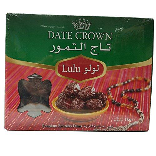Date Crown - Natürliche arabische Lulu Datteln aus den Emiraten (1000g)