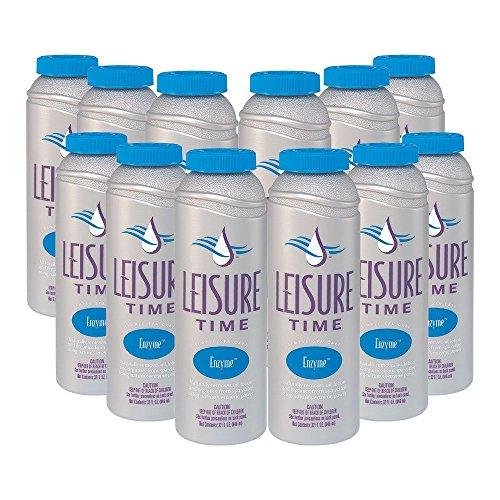 LEISURE TIME SGQ-12 Spas Hot Tub Enzyme, 12-Pack