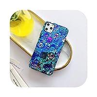 Zhiia For iPhone 12 mini 11 Pro Max 7 8 Plus X XR XS Max SE2020ファッションBlu-rayソフトバックカバー用の面白いitiペインティング電話ケース-RY284-3-For-iphone12ProMax