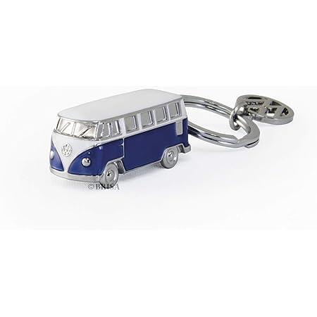 Brisa Vw Collection Volkswagen T1 Bulli Bus 3d Schlüssel Anhänger Geschenk Idee Fan Souvenir Retro Vintage Artikel Blau Bekleidung