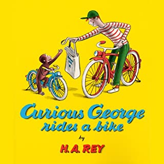 Curious George Rides a Bike cover art