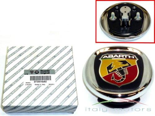 Original Fiat Grande Punto Abarth trasero Emblema–735516492