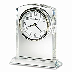 Flaire Arch Top Optical Crystal Table Clock