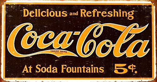 Sary buri Metal Tin Sign Poster Cadillac Vintage en M/étal Plaque Mur Art Peinture D/écoration