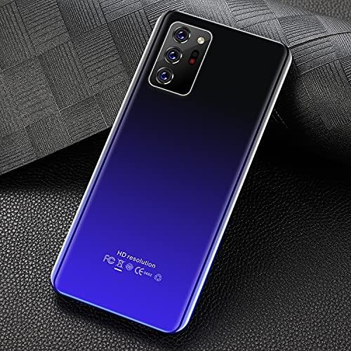 GAOwi Teléfono Inteligente Versión Global Note30plus Cellphone 6.1'4800mAh 6 128GB ANDROID10 1080 * 2320 Tarjeta SIM Dual SIM Teléfono móvil,Azul