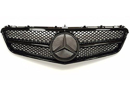 AMG Mercedes Coupe Cabrio Einzeln Leiste Gitter Glanz Schwarz Schwarz WE-G0159-A1-BK040-FOR Modelle Until April 2013