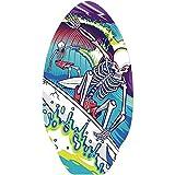 Yello Skimboard Skelett 50 x 76 cm -