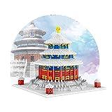 LWLEI Modelo Conjunto de Bloques de construcción, Pekín Architecture Landmarks 3D Puzzle Toy, 2400+ PCS Mini Ladrillos, Regalo para Adultos y niños Song (Color : Beijing Temple of Heaven)