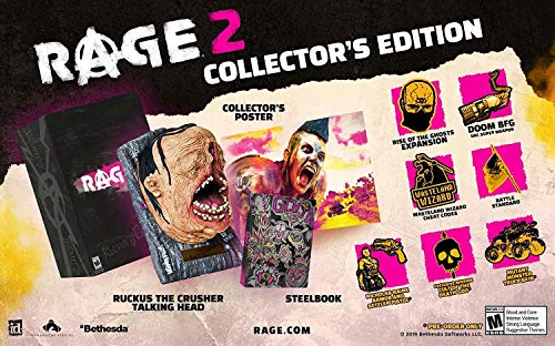 Rage 2 Collector's Edition - PlayStation 4