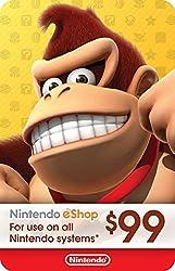 top 10 nintendo game cards $ 99 Nintendo eShop Gift Card [Digital Code]