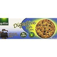Gullón - Digestive Avena Choc - Galleta integral con avena, trigo y gotas de chocolate negro - 425 g
