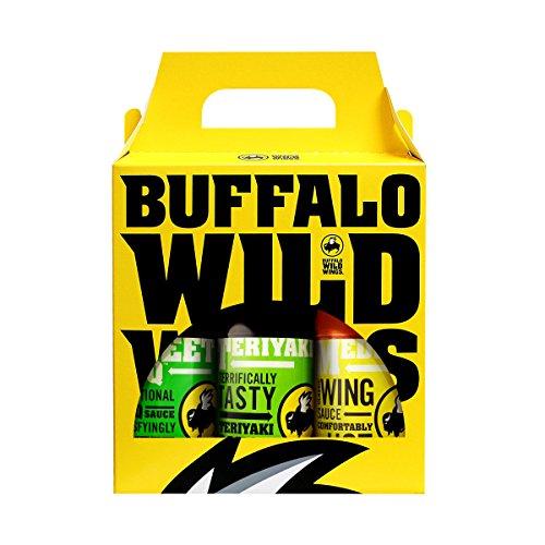 Buffalo Wild Wings Sweet Variety Pack (Sweet BBQ, Teriyaki, Medium)
