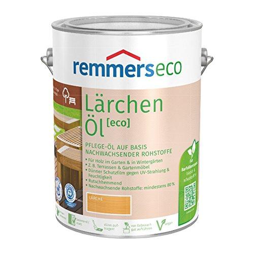 Remmers Gartenholz-Öle [eco] Holzpflege Möbelpflege (750 ml, Lärchen-Öl)