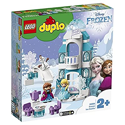 LEGO DUPLO Princess TM - Frozen Castillo de Hielo, Juguete de Palacio de Princesas, Set de construcción didáctico, Novedad 2019 (10899) por Lego ES