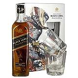 Johnnie Walker Black Label 12 Year Old / 2 Glass Pack /