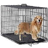 BestPet Large Dog Crate Dog Cage Dog Kennel Metal Wire...