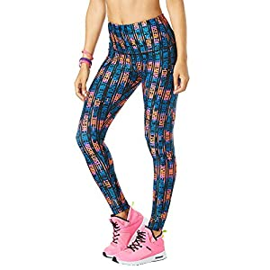 Zumba Leggings de Fitness Cintura Alta Entrenamiento Baile Compresión Pantalones Mujer | DeHippies.com