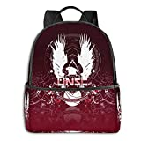 School Backpack Unsc Logo Casual Daypack Student School Bag Travel Camping Outdoor Backpack For Boys Girls