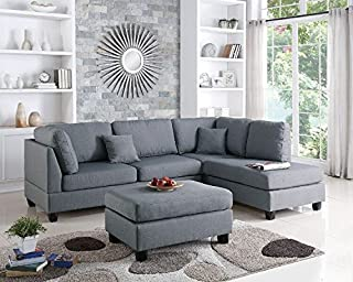 Best couch with chaise and ottoman Reviews