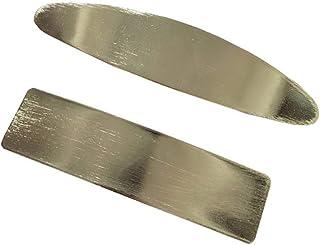 Minkissy 2 peças de prendedor de cabelo geométrico para rabo de cavalo, acessório para cabelo para mulheres