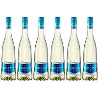Pinord Moscato Mediterráneo Frizzante - Paquete de 6 x 750 ml - Total: 4500 ml
