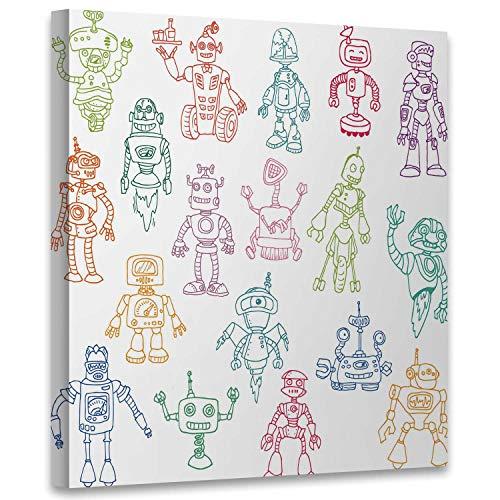 robot scrapbook - 7