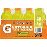 Gatorade Thirst Quencher Lemon-Lime, 20 Ounce Bottles (Pack of 12)