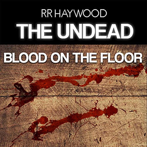 Blood on the Floor audiobook cover art