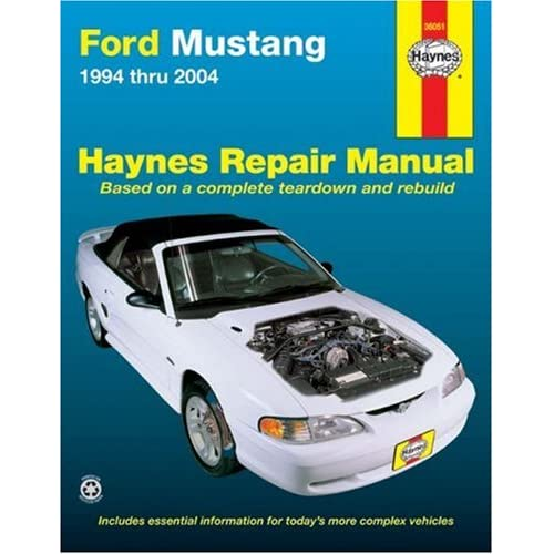 2003 ford mustang owners manual
