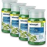 tetesept - Complemento para el baño de sal marina para épocas de gripe pack de 4