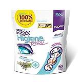 Flopp - Detergente para Ropa Higiene Total, 18 Cápsulas | Detergente Temperatura Baja Elimina Olor. Detergente Lavadora Ropa Eco Limpia sin Ensuciar el Planeta