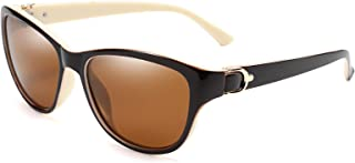 FEISEDY Women Vintage Polarized Sunglasses Lady Elegant Cateye Sun Glasses B2476