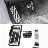 Pedal automático de acero inoxidable para Passat B6 B7 CC Sharan 7N Alltrack