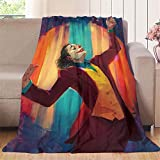 Elliot Dorothy Joker Imax Póster película cómic, arte divertido pintura al óleo, manta de felpa súper suave de microfibra de terciopelo, microfibra, colorido, 70'x80'(W178cmxL203cm)
