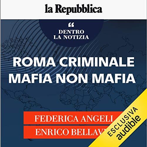 Roma criminale, mafia non mafia copertina