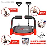 MBB Ab Crunch Machine,Exercise Equipment for Home Gym Equipment for Strength Training with Resistance Bands, Abs and...