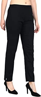 SriSaras Women's Slim Fit Trousers