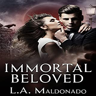 Immortal Beloved audiobook cover art