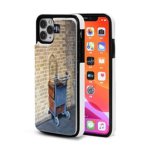 Jiujiu Station iPhone 11 Wallet Case, Slim Folio Flip Case Premium Protective PU Leather Wallet Case with Card Slot Soft TPU Back Cover for Apple iPhone 11 Series