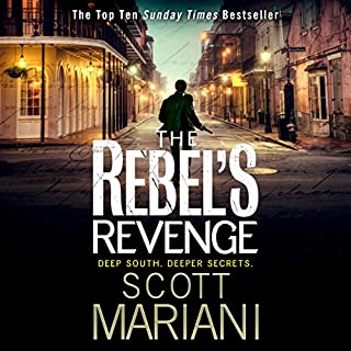 The Rebel's Revenge      Ben Hope, Book 18              By:                                                                                                                                 Scott Mariani                               Narrated by:                                                                                                                                 Colin Mace                      Length: 10 hrs and 34 mins     124 ratings     Overall 4.7
