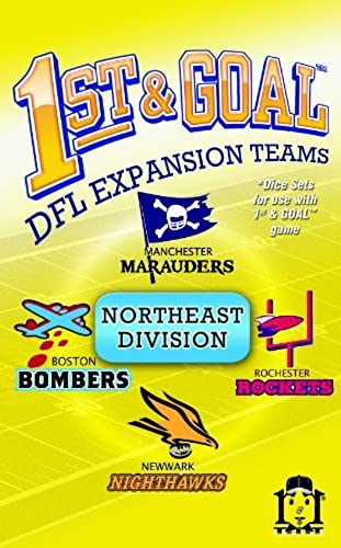 1st And Goal Expansion  2 - Northeast Division by R & R Games
