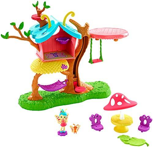 Enchantimals GBX08 Blütenpark Schmetterling-Spielhaus
