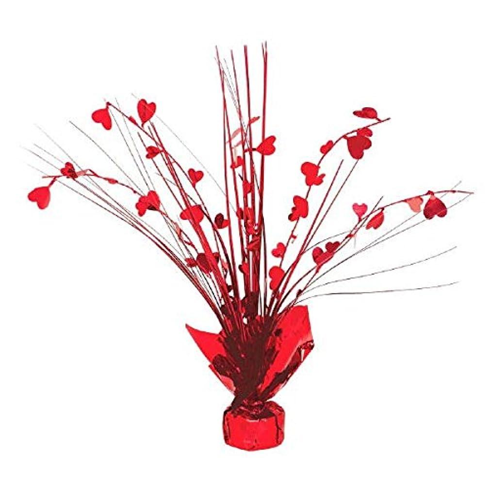 Valentine Red Heart Foil Spray Centerpiece   Party Decoration